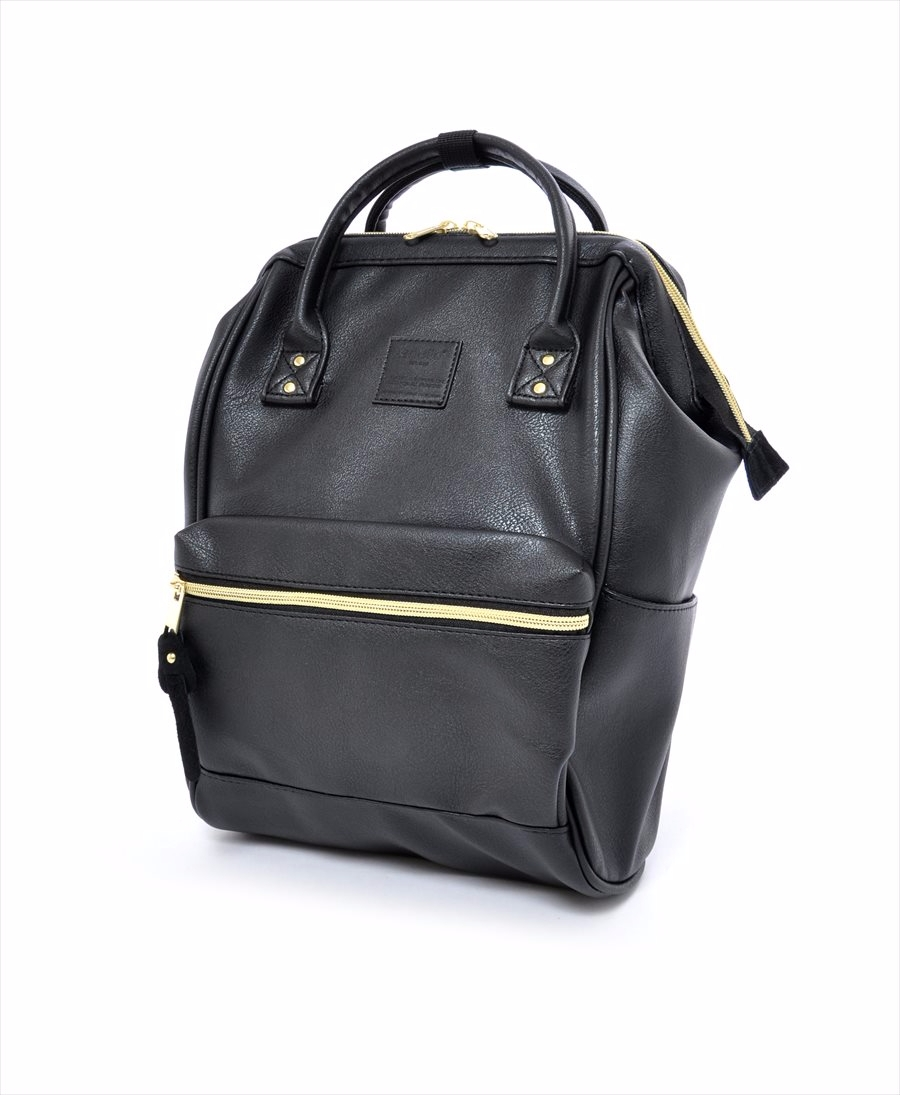 Faux Leather Hinged Clasp Mini Backpack|PRODUCTS|anello® OFFICIAL SITE b9fc1fa42c