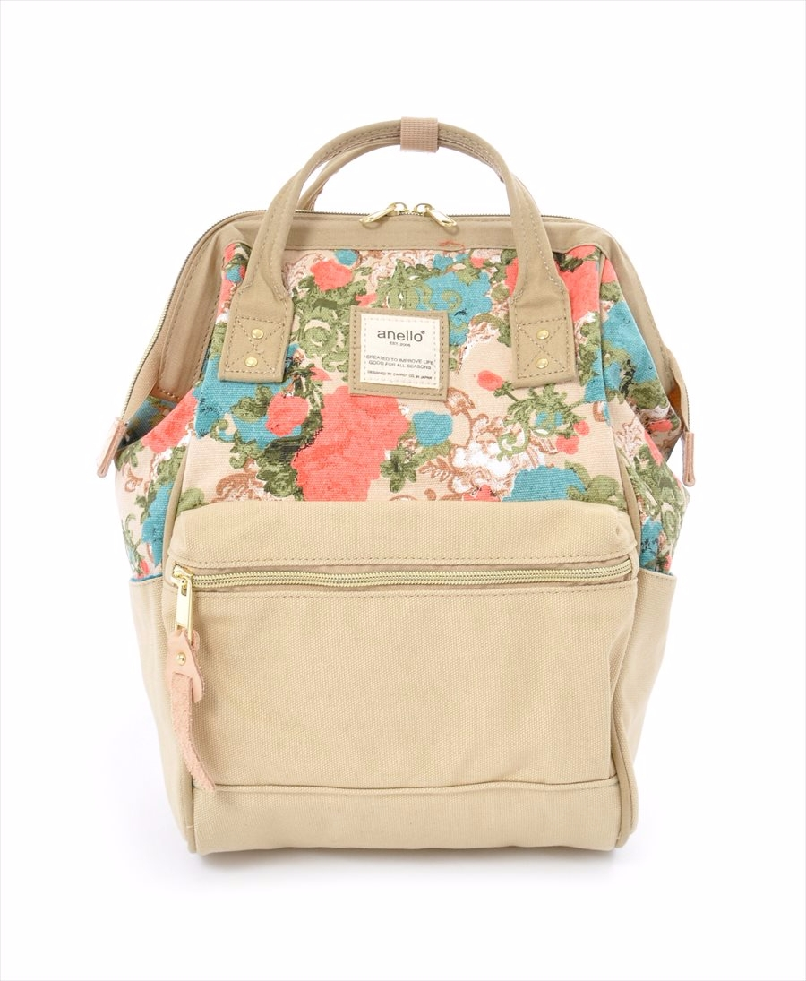 Hinge Clasp Mini Backpack · Canvas Hinge Clasp Mini Backpack