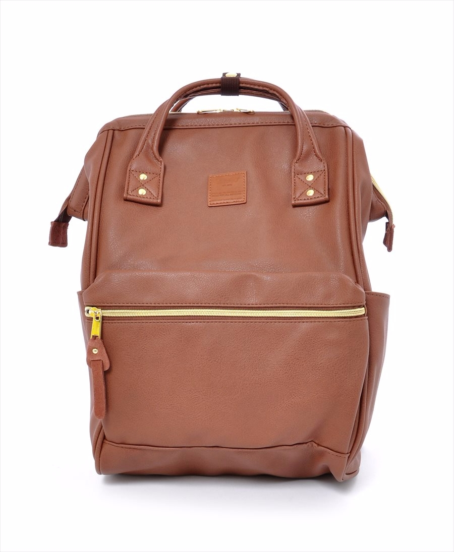 e342a7432743 Hinge Clasp Mini Backpack · Faux Leather Hinged Clasp Backpack