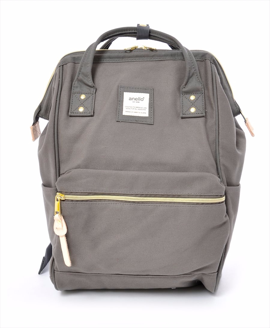 63c53f422e4 Canvas Hinge Clasp Backpack|PRODUCTS|anello® OFFICIAL SITE