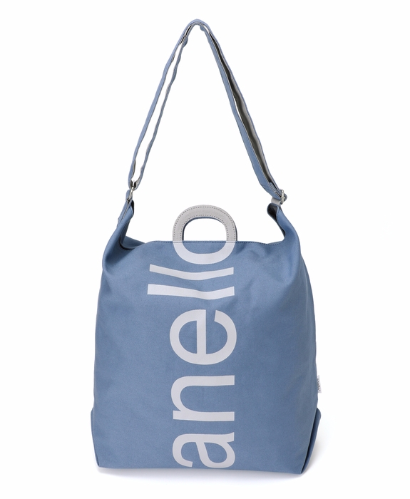 d1b66852f5  Japan official store limited item Cotton canvas  anello  logo printed  2ways tote