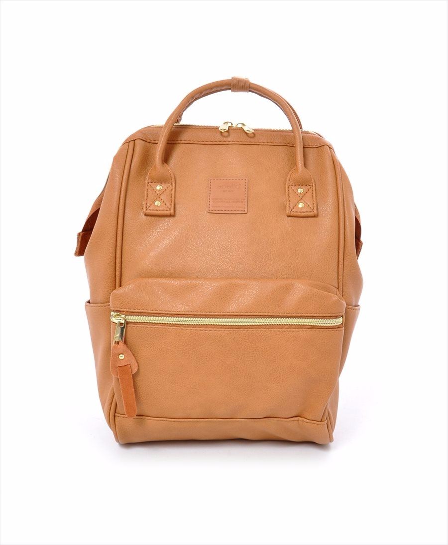 ... Faux Leather Hinged Clasp Mini Backpack cf315cc33332b